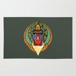 Mandrillus Sphinx Rug