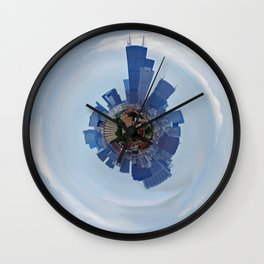 Chicago Planet Wall Clock