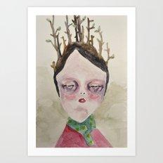 Winter Cold Art Print