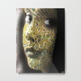 Girl To Woman Metal Print