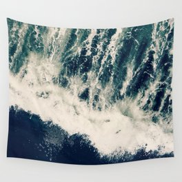 The Ocean Roars Wall Tapestry