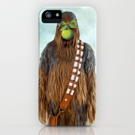 Chewbacca in The Son of A Man iPhone Case