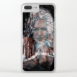 a winter´s tale Clear iPhone Case