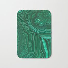 Malachite Bath Mat