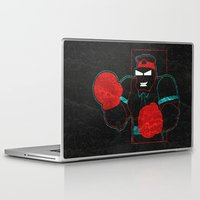 boxing Laptop & iPad Skins featuring Boxing Gloves by subpatch