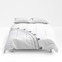 London Eye Monochrome Comforters