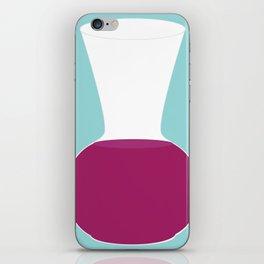 Showtasting - Wine Glass - Big Tippie iPhone Skin