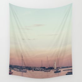 Sailing on the Boston Harbor Wall Tapestry
