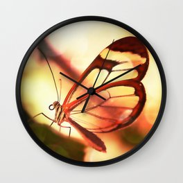 Butterfly 01 Wall Clock