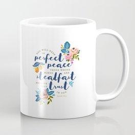 Perfect Peace Coffee Mug