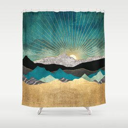 Peacock Vista Shower Curtain