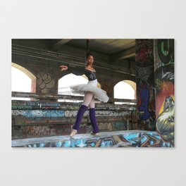 Tendu - by Thaler Photography Canvas Print