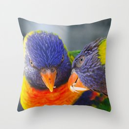 I share with you Throw Pillow