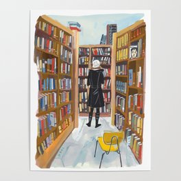 Poli at Book Culture Poster