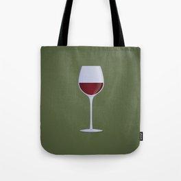 Red Wine Tote Bag