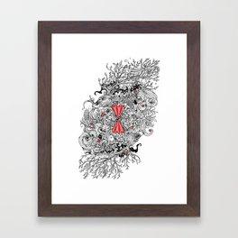 10 of Diamonds Framed Art Print