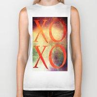 xoxo Biker Tanks featuring XoXo by Fine2art