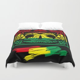 brazil color patterns Duvet Cover