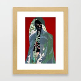 Ghoul Framed Art Print