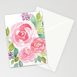 Meraki Rose Bouquet Stationery Cards