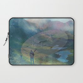 What is Reality? #2, Fun UFO image Laptop Sleeve