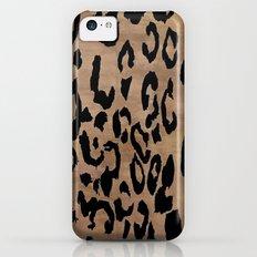 Leopard Print  iPhone 5c Slim Case