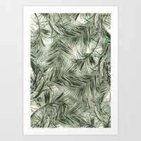 palms Art Prints featuring palms by .eg.