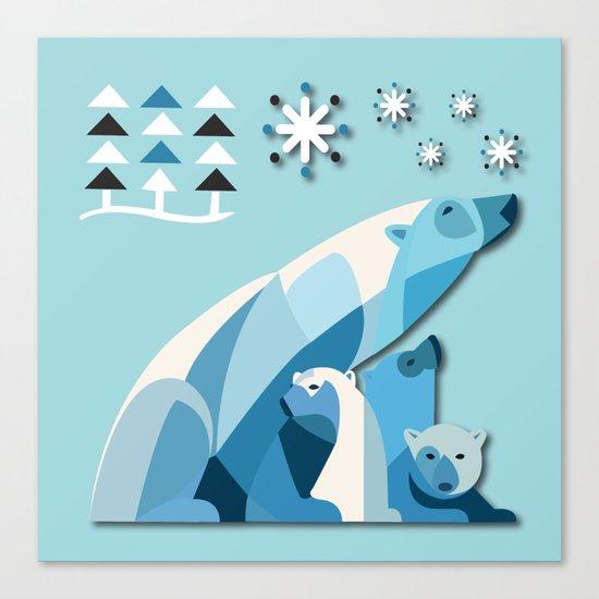 Polar Bear No. 2 Canvas Print