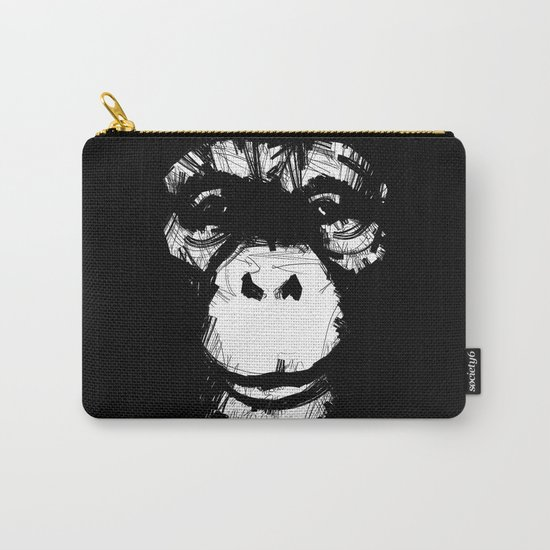 Everything's More Fun With Monkeys! Carry-All Pouch