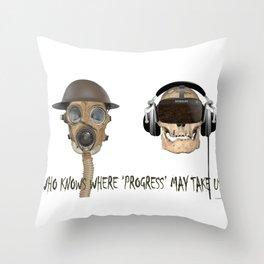 Teleological Claptrap 01 Throw Pillow
