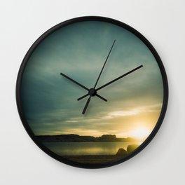 Dawn at Lake Powell Wall Clock