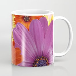 Colorful Medley of African Daisies Coffee Mug