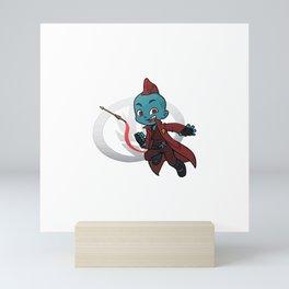 Sharp Shooter Mini Art Print