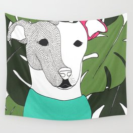 Mr.T and monstera Wall Tapestry