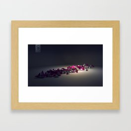 bursting  Framed Art Print