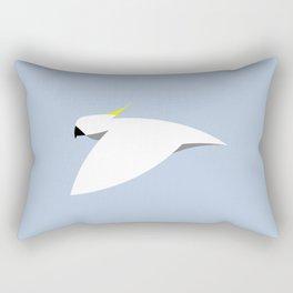 Flight of the Sulphur-Crest Rectangular Pillow