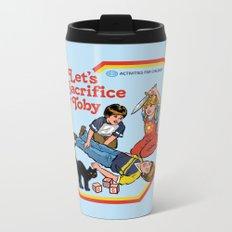 LET'S SACRIFICE TOBY Metal Travel Mug