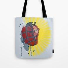My Heart goes boom Tote Bag