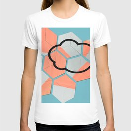 Cloud geometry T-shirt