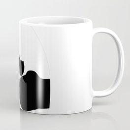 In my DARKEST HOUR I reached for a hand and found a paw Coffee Mug