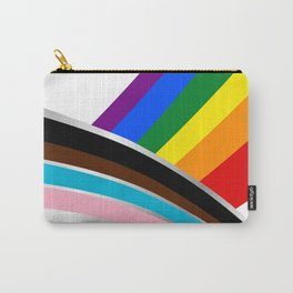 LGBTQ New Flag White Carry-All Pouch