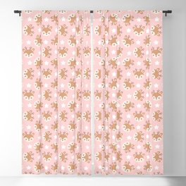 Cute Reindeer Design Collection Blackout Curtain