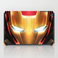 iron man iPad Cases featuring IRON MAN IRON MAN by Smart Friend