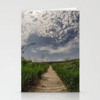 boardwalk empire Stationery Cards featuring Boardwalk by Reimerpics