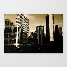 Sydney View Canvas Print