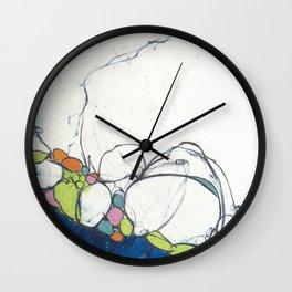 Sapphire Shore Wall Clock