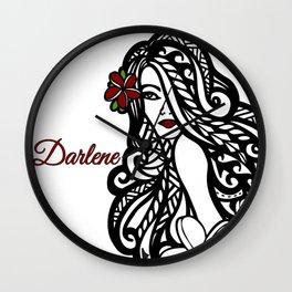 Darlene Wall Clock