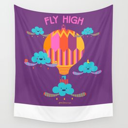 Fly High Wall Tapestry
