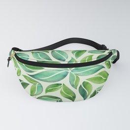 Spring Leaf Mandala Fanny Pack