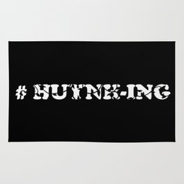 #Huynh-ing (Inverted) Scattered Leaves Rug